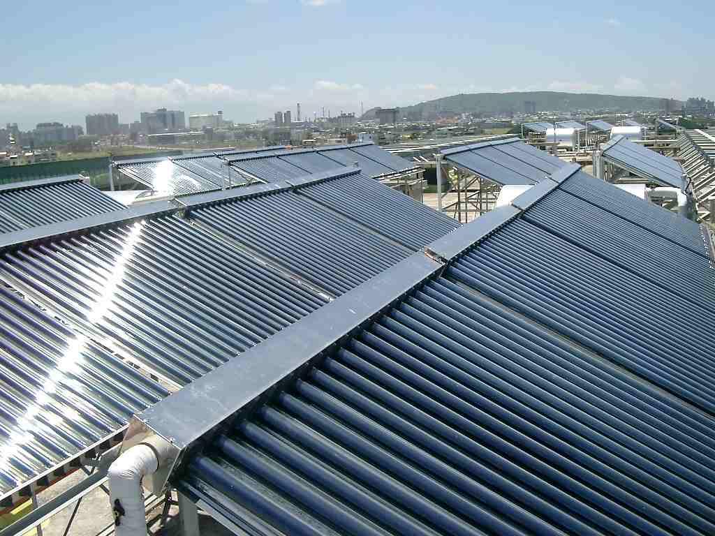 太阳能热水系统图片